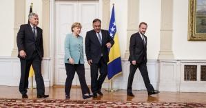 Angela Merkel nos Balcãs