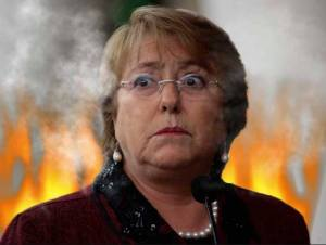 Michele Bachelet, a presidente do Chile