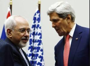 O negociador iraniano com John Kerry