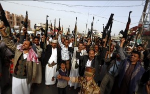 Milicianos Houthis