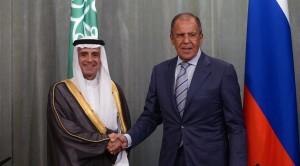 Os ministros das Relações Exteriores saudita e russo