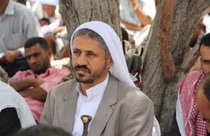 IEMEN - Yemeni Islah party leader Hmood Al Mikhlafy in the city if Taiz